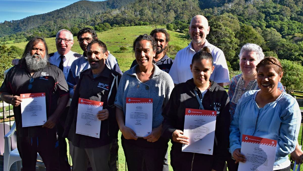 Gulaga Mountain to open, Indigenous students graduate from fire training